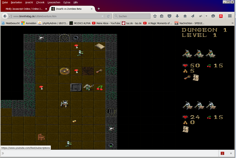 Dwarfs vs Zombies